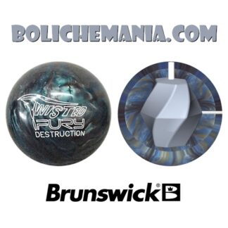 Bola de boliche Brunswick Twisted Fury Destruction