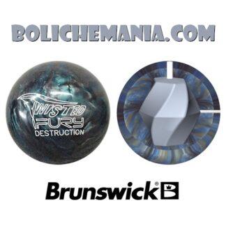 Bola de boliche Brunswick Twisted Fury Destruction